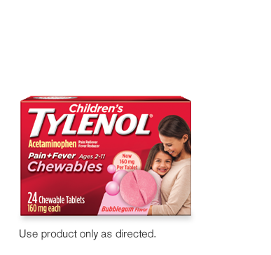 Children's chewable Tylenol