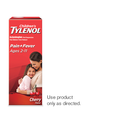 Children pain and fever tylenol