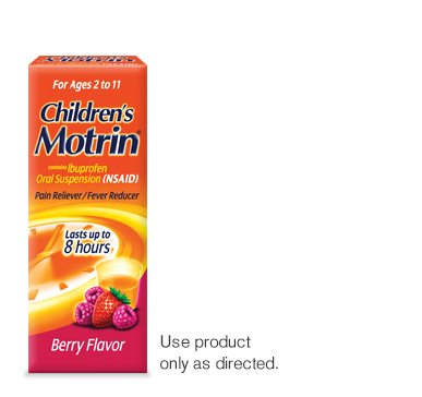 Children's motrin dosage