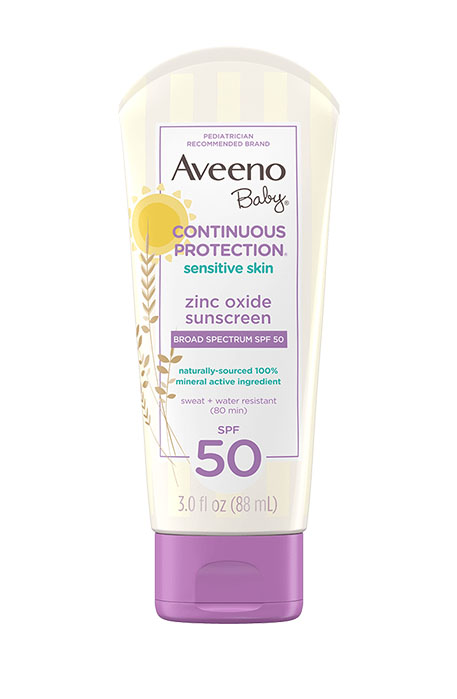 Aveeno continuous protection sunscreen