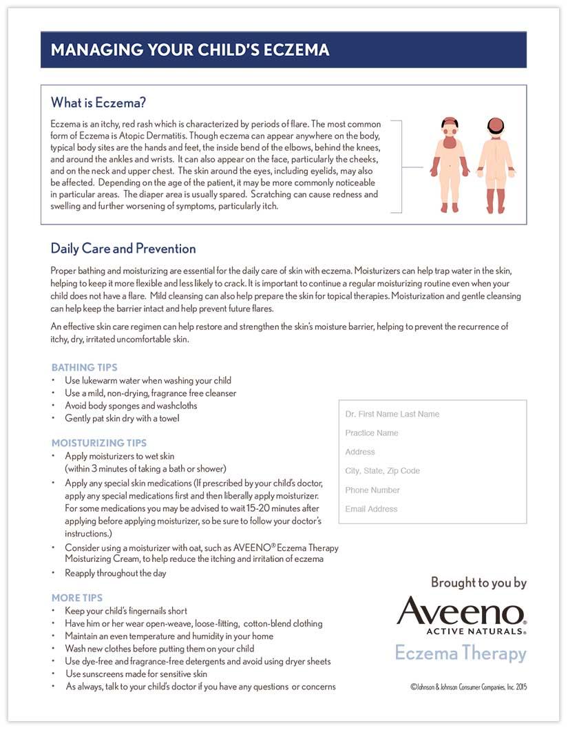 Managing Your Child's Eczema