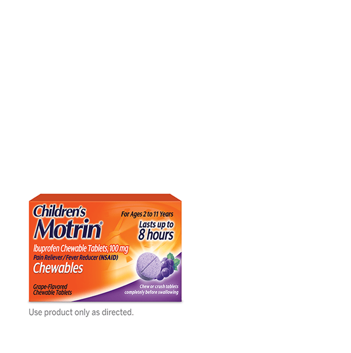 Children's MOTRIN® Chewables Dosage