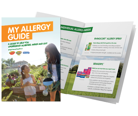 MY ALLERGY GUIDE to help better understand allergies and more