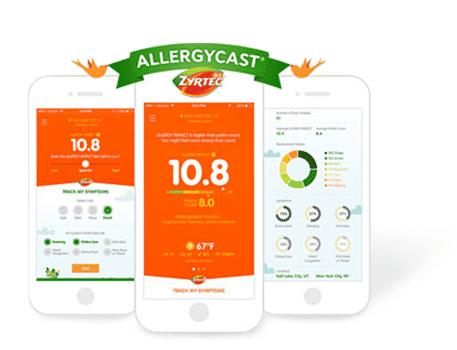 Allergycast app