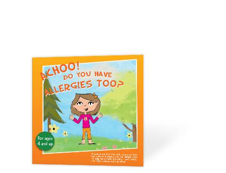Allergy story book zyrtec
