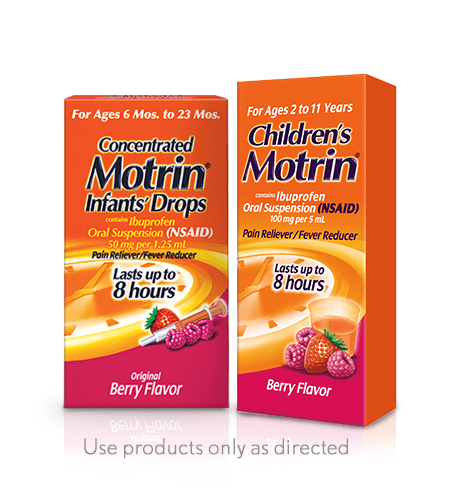 Children's motrin products
