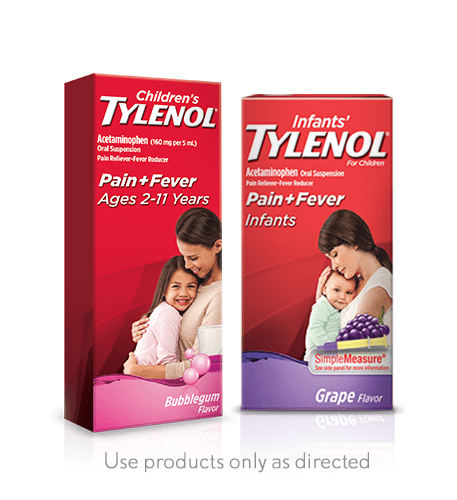 Children's tylenol products