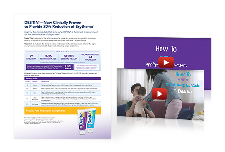 More diaper rash resources with desitin