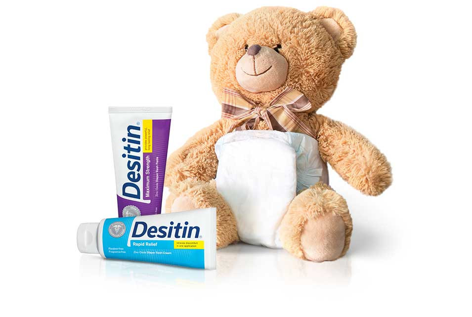 Desitin products with bear