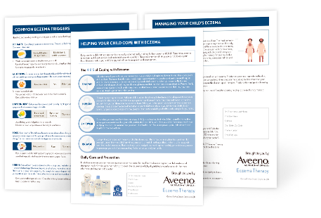 More eczema resources with aveeno