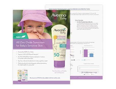 Sell Sheet: Sunscreen